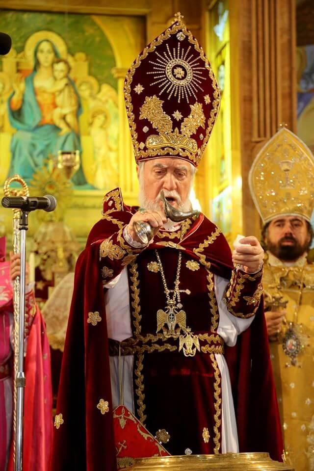 His Holiness Aram I celebrates Christmas Liturgy with the ...