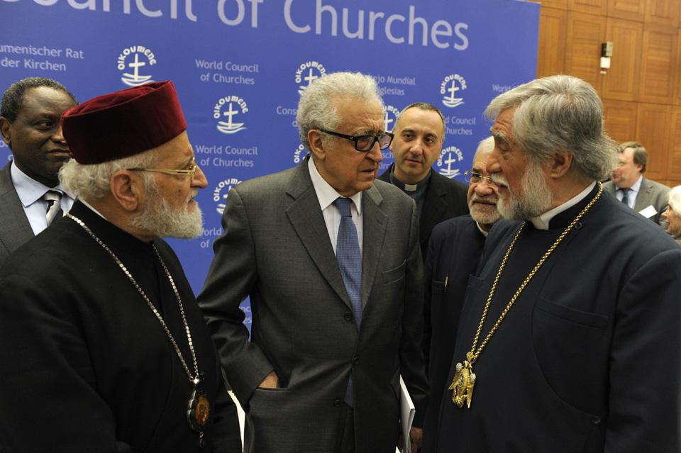 The World Council of churches (WCC) Geneva2